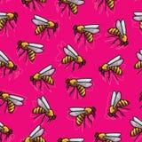 Rosa färg mönstrar Arkivbilder