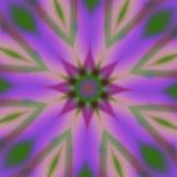 Rosa färg- och lilablommafractal Fotografering för Bildbyråer