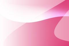Rosa färg- och vitkurvlinje bakgrund Fotografering för Bildbyråer