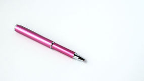 Rosa färg skrivar Arkivfoton