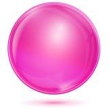 Rosa färgbubbla Arkivfoton