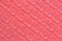 Rosa färgcementvägg Royaltyfria Bilder