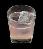 Rosa färgdrinkAbsolut tromb Arkivbilder