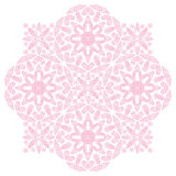 Rosa färgen pricker vektorprydnaden Arkivbild