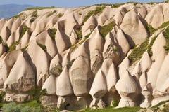 rosa färgen vaggar, Goreme, Cappadocia, centrala Anatolien, Turkiet Arkivfoto
