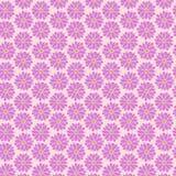 Rosa färger blommar sömlösa modeller Arkivfoto