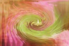Rosa färger för spiral för illustration för bakgrundstexturabstrakt begrepp med gräsplan royaltyfri illustrationer
