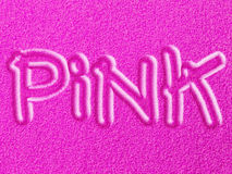 Rosa färger sandpapprar och lägger in - Fluo effekt Arkivbilder