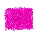 Rosa färger skriver klottrar texturfläck som isoleras på vit bakgrund Arkivfoto