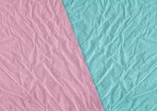 Rosa färger, skrynklig och grungy texturerad pappers- bakgrund för blåttmellanrum Arkivbild