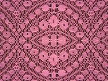 Rosa färger snör åt tygbakgrund Royaltyfria Foton