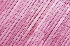 Rosa färger tonad wood väggtextur Royaltyfri Fotografi