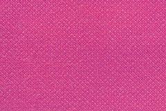 Rosa färger tvättade matttextur, bakgrund för textur för linnekanfas vit Arkivbild