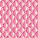 Rosa färger vadderad textur stock illustrationer