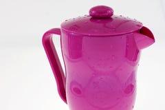 Rosa färgkruka Royaltyfri Fotografi