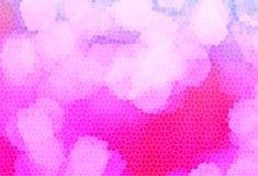 Rosa färgsignalljus för bakgrund royaltyfri fotografi