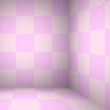 Rosa färgtabellrum - för skärm dina produkter Royaltyfria Foton