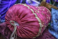 Rosa färgunderlagkuddar Royaltyfri Foto