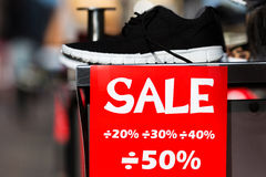 rosa försäljningsyellow Fotografering för Bildbyråer
