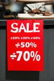 rosa försäljningsyellow Royaltyfri Foto