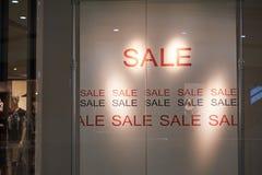 rosa försäljningsyellow Arkivbild