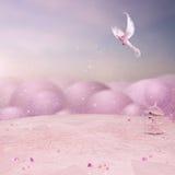 Rosa Fairy Tale Stock Image