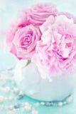 Rosa fiowers Stockbild