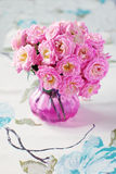 Rosa fiowers Lizenzfreies Stockfoto