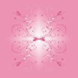 rosa fjäder Arkivbild