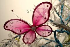 Rosa fjäril Royaltyfria Bilder
