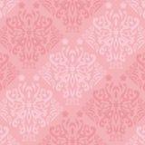 Rosa fjärilsWallpaper royaltyfri illustrationer