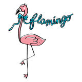 Rosa Flamingo Lizenzfreie Stockfotos