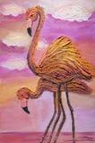Rosa Flamingos Stockfotos