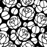 Rosa floresce o fundo sem emenda Imagem de Stock Royalty Free