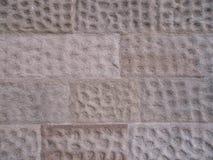 Rosa formado hoyuelos Grey Stone Footpath Pavers Texture imágenes de archivo libres de regalías