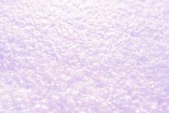 Rosa fresco di struttura del fondo della neve Fotografie Stock