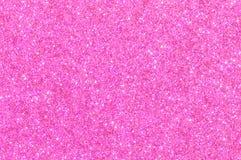 Rosa Funkelnbeschaffenheitshintergrund Lizenzfreies Stockbild
