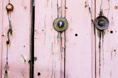 Rosa gemalter Hintergrund Lizenzfreies Stockfoto