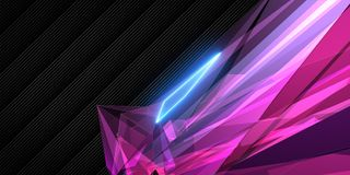 Rosa geometrische Tapete lizenzfreies stockfoto