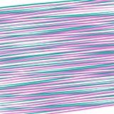 Rosa gráfico e linhas verdes da diagonal brilhante abstrata do fundo em uma dinâmica de teste padrão futurista do papel de parede ilustração royalty free
