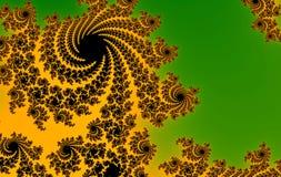 Rosa grüner abstrakter Hintergrund Stockbilder