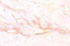 Rosa guld- marmorväggtextur för bakgrunds- och designkonstarbete, sömlös modell av tegelplattastenen med ljus lyx Arkivbild