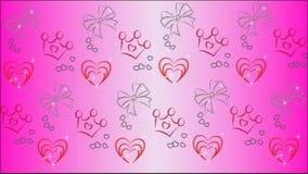 Rosa härlig bakgrundsvektor för barn Royaltyfria Bilder
