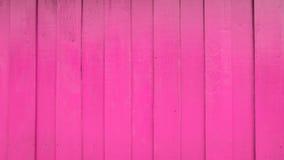 Rosa hölzerne Wand Stockbild