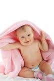 rosa handduk Royaltyfri Bild