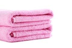 rosa handduk Royaltyfria Bilder