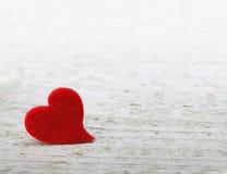Rosa Herz zwei Stockbild