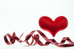 Rosa Herz zwei Stockbilder