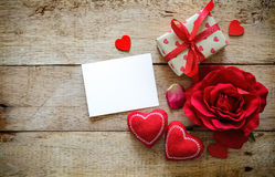 Rosa Herz zwei lizenzfreies stockbild