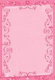 Rosa Hintergrund mit Herzen. Lizenzfreie Stockbilder